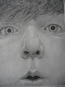Graphite portrait cv