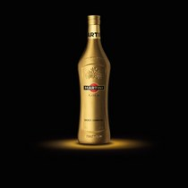 Martini gold bottle cv