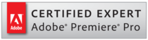 Certified expert premiere pro badge cv