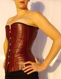 Lambskin corset 01 cv