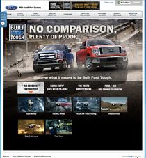 Fordtorturetest.com landing page cv