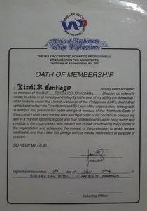 Oath of membership cv