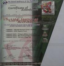 Certificate of attendance1 cv