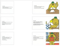 Sample page mr men cv