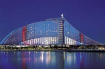 Jumeirah beach hotel outside view cv