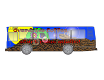 Overdrive coffee bus advertisement cv