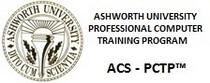 Ashworthuniversity acs pctp cv