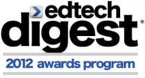 2012 edtechdigest awards program logo cv