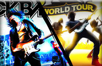 Rock band 2  guitar hero world tour cv
