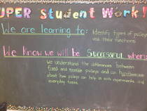 Learning goals cv