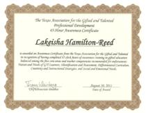 Tagat certificate cv