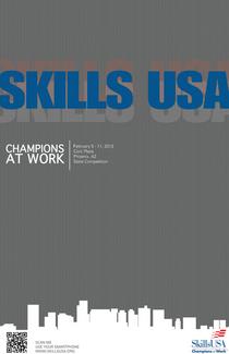 Skills usa poster competition cv