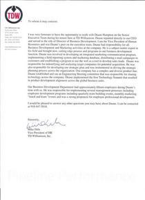 Recommendation letter 001 cv