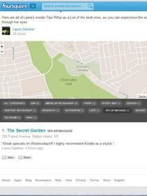 Foursquare review 1 cv