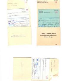Book cards cv