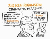Sir ken robinson changing paradigms 495w cv