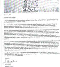 Beth letter cv