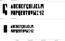 Typeface temp cv