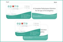 Apollo visiting card design cv