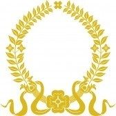 Gold laurel wreath cv