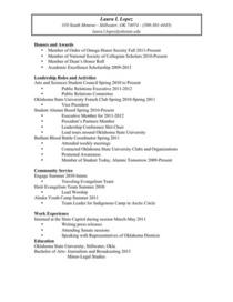 Resume cv  cv