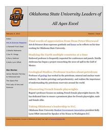 E newsletter cv cv