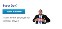 Us bank thank a banker cv