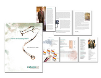 Annual report concept cv
