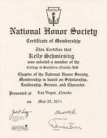National honor society certificate0001 cv