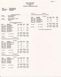 College transcript may 20120001 cv