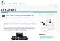 Logitech blog cv