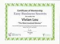 Most involve mentor cv
