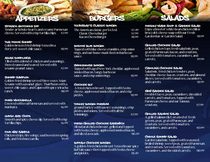 Menu pg two cv