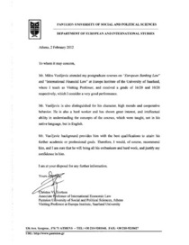 Recommendation letter associate professor christos vl. gortsos page 001 cv