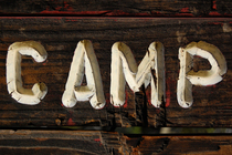 Summer camp sign cv