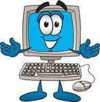 Computer open arms cv