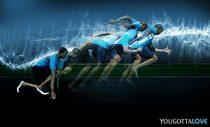 Nike lights advertisment concept nologo cv