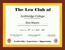 Ryan leo club cv