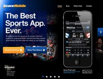 Scoremobile  thescore free iphone mobile sports app   mobile sports updates cv