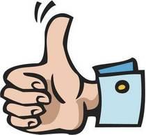 Thumbs up cv