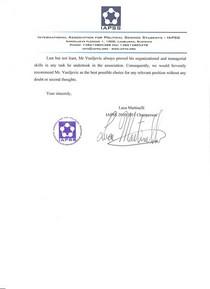 Iapss recommendation milos vasiljevic3 cv