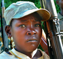 Child soldier congo cv