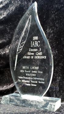 Silver quill award cv