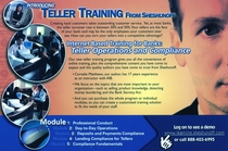 Teller training direct mail cv