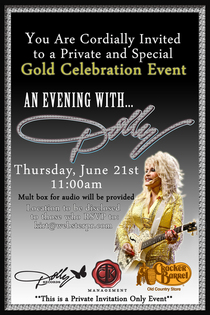 Dolly riaa gold invitation cv