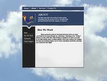 Home page design cv