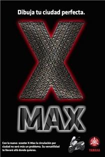 X max city con rojo cv