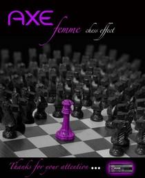 Chess rosa blanco y negro con logo 2 cv