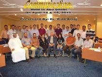 Communication uae april 14 15 2010 cv