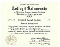 Dominick inglese diploma salem college cv